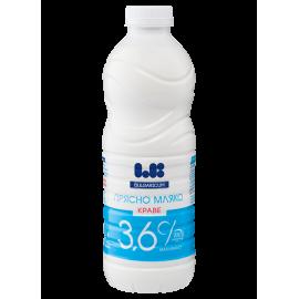 """Прясно краве мляко 3,6% """"Ел Би"""" 1л"""